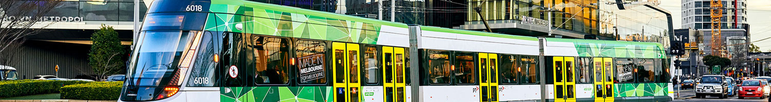 E-Class Tram popular in Melbourne